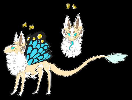 Flutterfae mascot - Habu