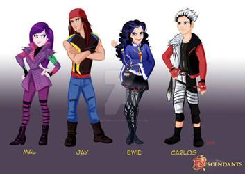 Disney' s Descendants