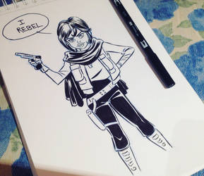 Jyn Erso, Rogue One, Star Wars