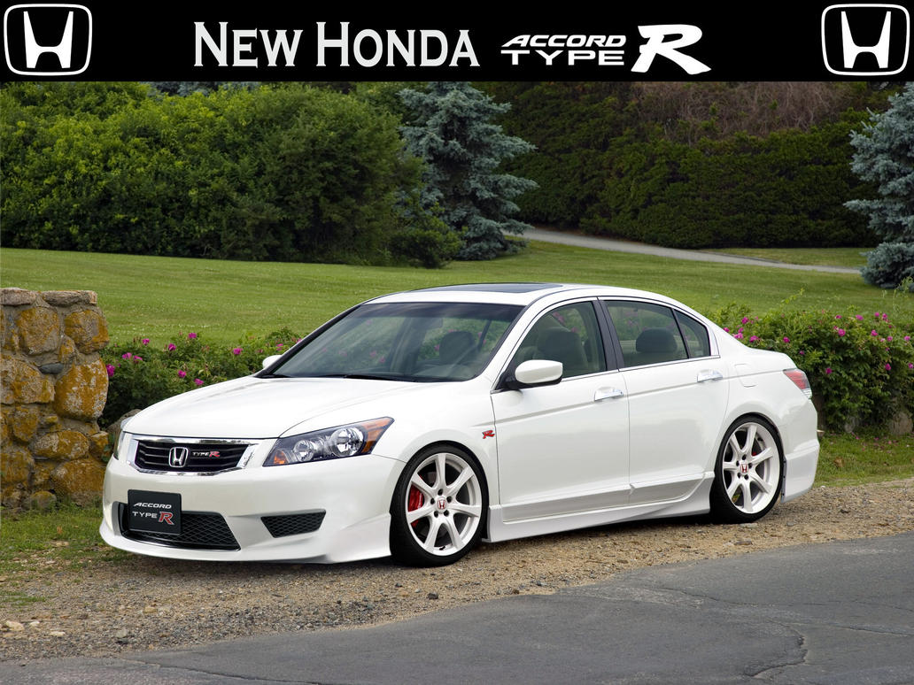 Honda accord type r by tomvi on deviantart for Honda accord type r 2017
