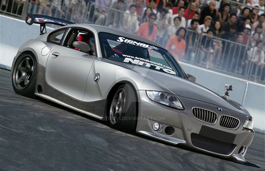 Bmw Z4 Drifting By Tomvi On Deviantart