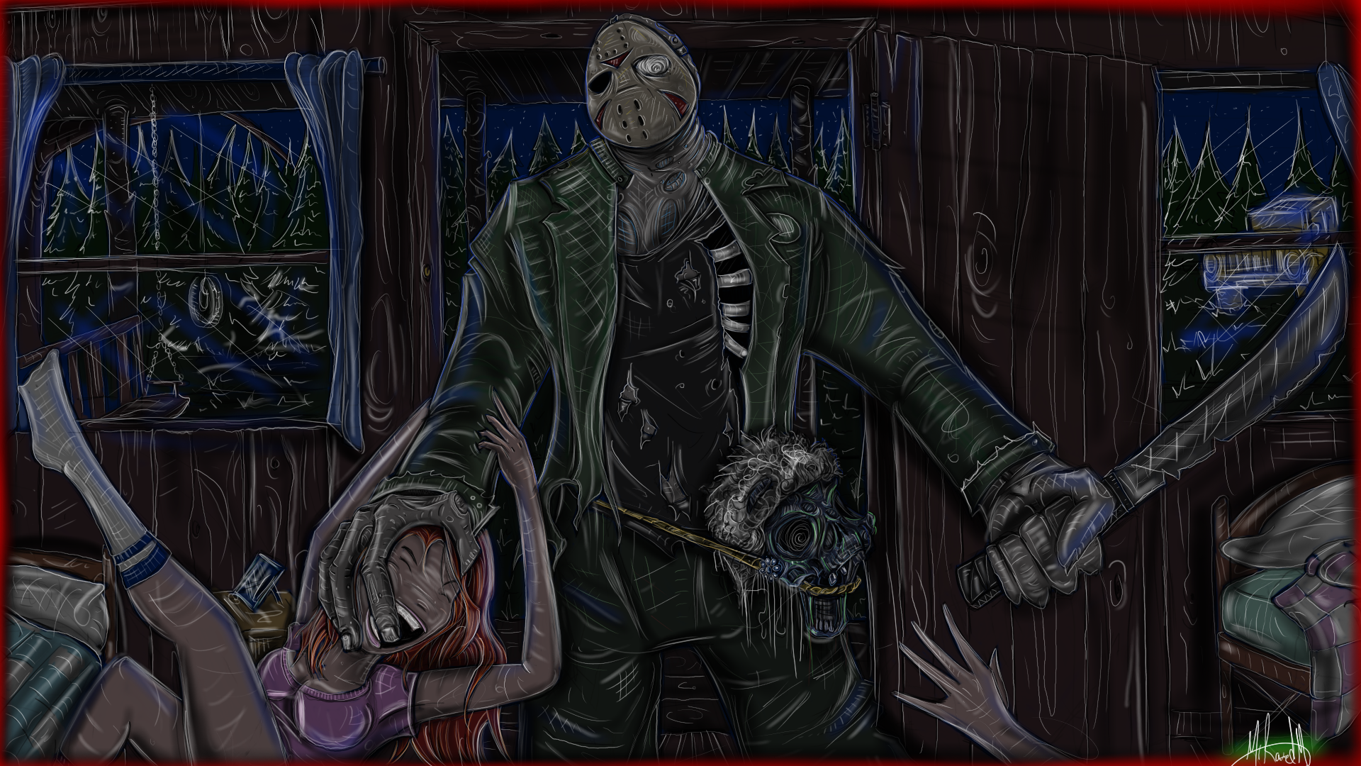 Friday The 13th Jason Voorhees By Yeahmanproductions On Deviantart