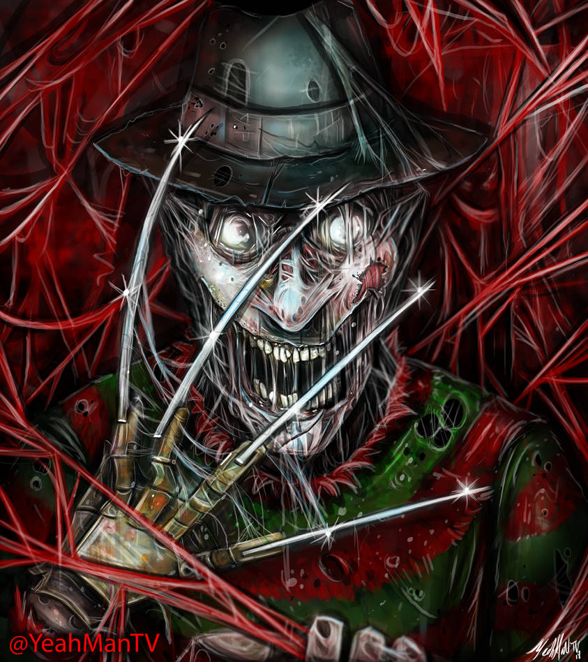 Freddy Krueger by YeahManProductions