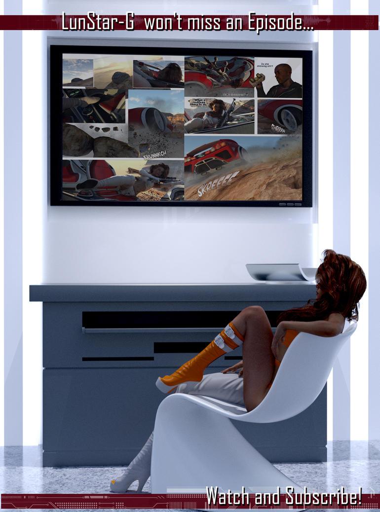 ADVERT - The Annihilators LunStar G watches Epsiod by G-Mantis