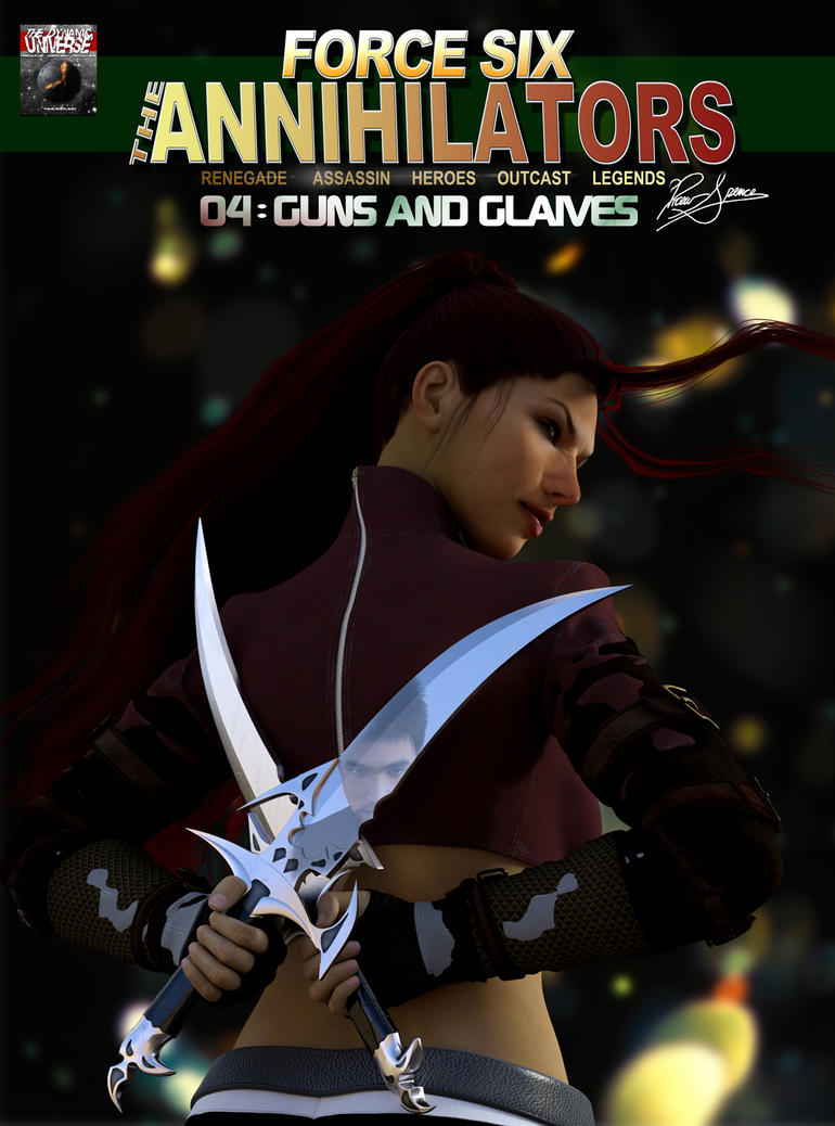 Force Six Episode 04 Guns and Glaives Cover by G-Mantis