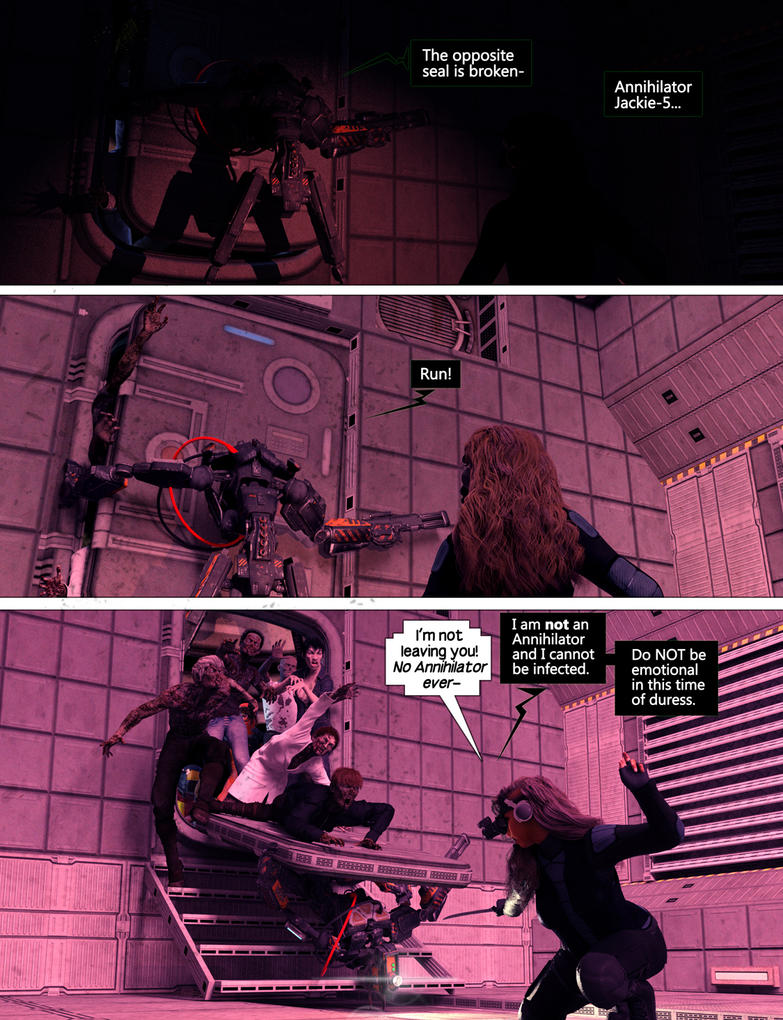 Page Pull Part II Beta Blood Bath II by G-Mantis