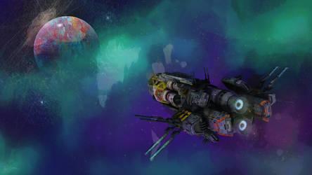 ScienceShip Purple Space FULL