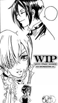WIP comic Kuroshitsuji.