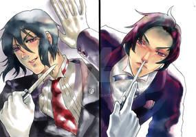Sebastian x Cloud
