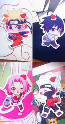 Pack Naruto stickers