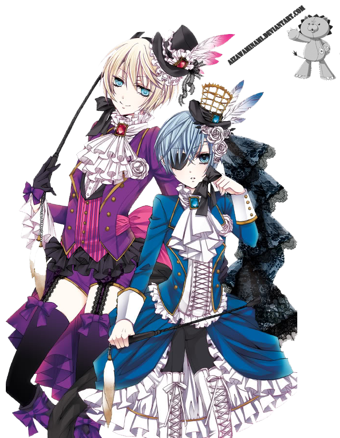 Render Ciel Phantomhive and Alois Trancy by AizawaMinami ...