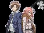Render Takigawa Yoshino and Kusaribe Hakaze