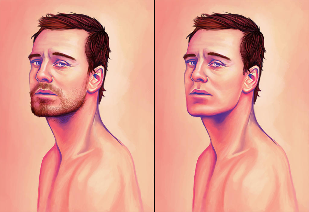 Fassbender Study 2 by Beckerwith