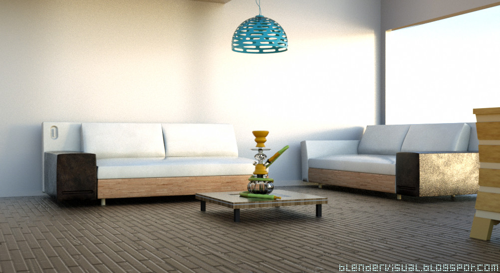 Interior Design Sofa sea Sweet Home Visualization by str9led on ...