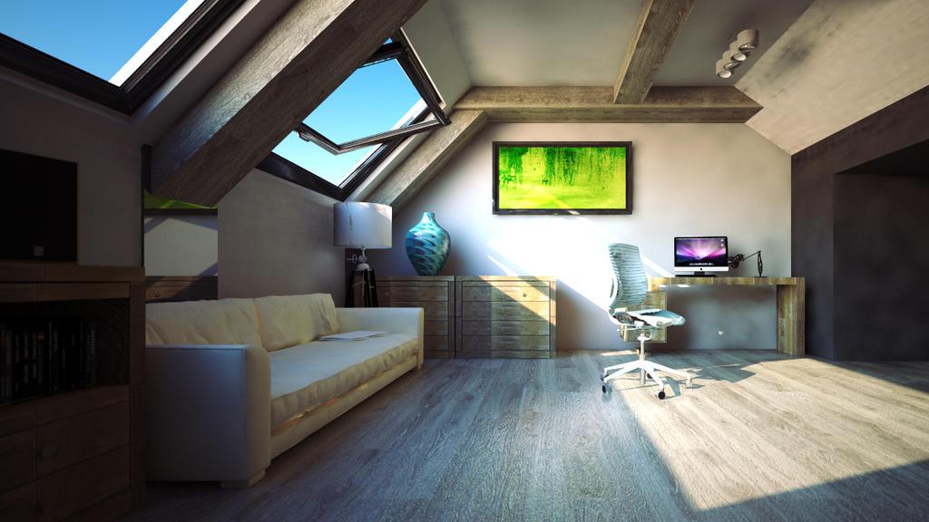 cinema 4d and vray interior design video hd by str9led. Black Bedroom Furniture Sets. Home Design Ideas