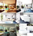Bathroom Octane Render and Blender Architec shot07