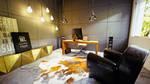 modern house octane render blender 4k 12