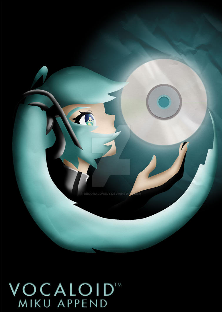 Vocaloid Miku Append by Decoralovely