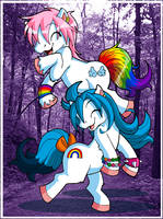 We Are Little Ponies by runeechan