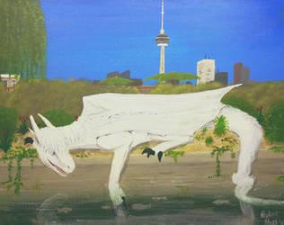 Levi Currie visits Toronto (comm) by Ahgjan