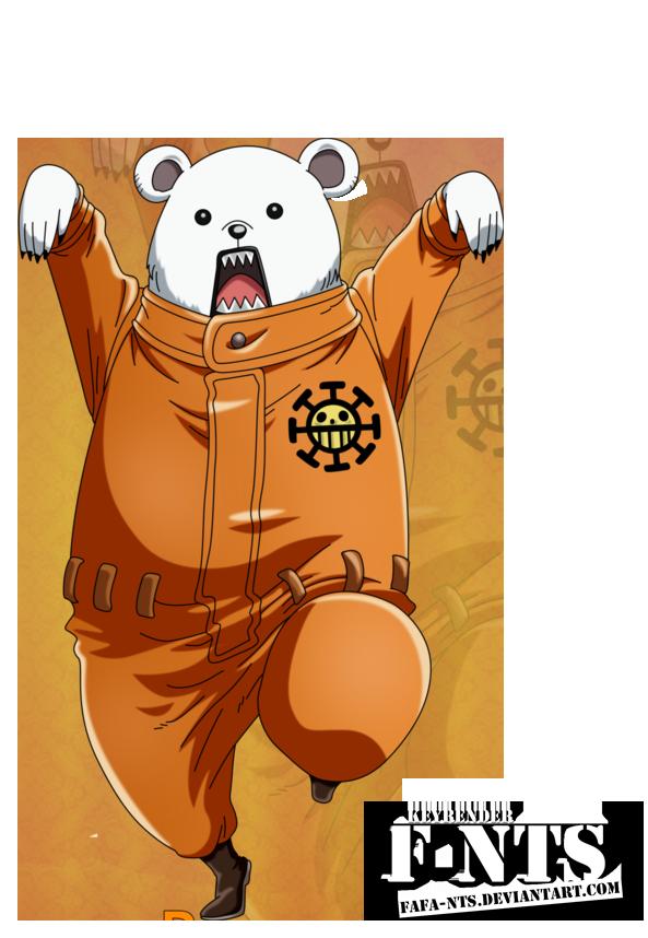 Bepo - One Piece Render by Fafa-Nts by Fafa-Nts on DeviantArt