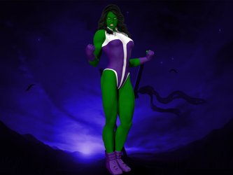 She Hulk by rokket007