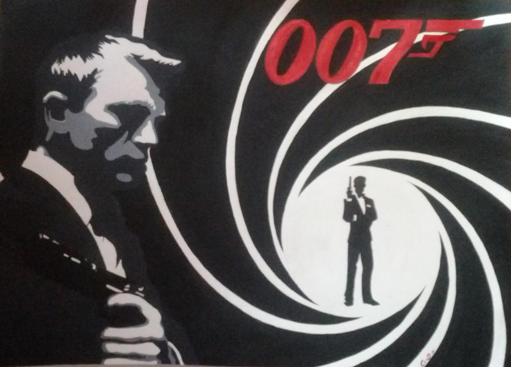 Bond, James Bond by mangakris