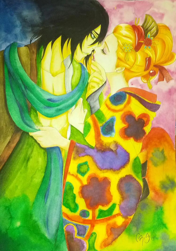 82 Kiss by mangakris