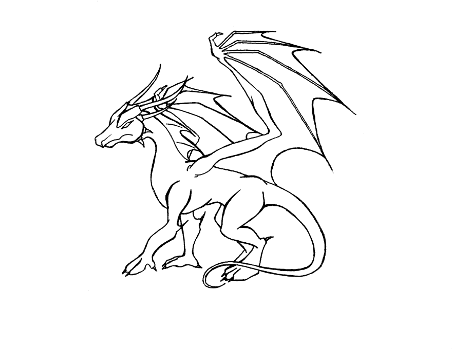 how to draw a girl dragon