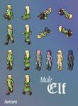 Elf Avatar by Aantara