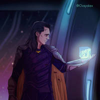 Loki from the Avengers Infinity war by alex5228