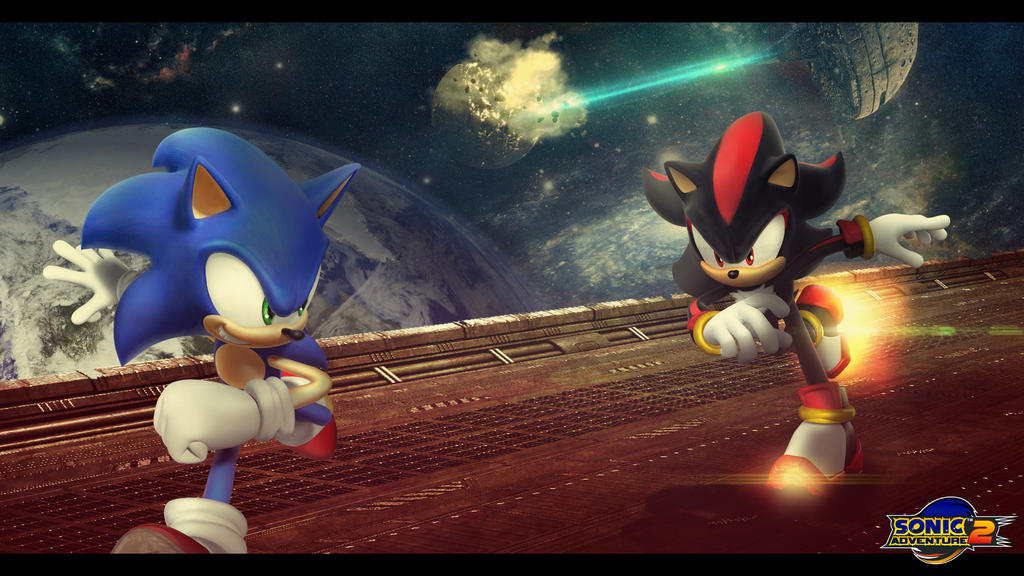 Sonic Adventure 2 by RikenProductions