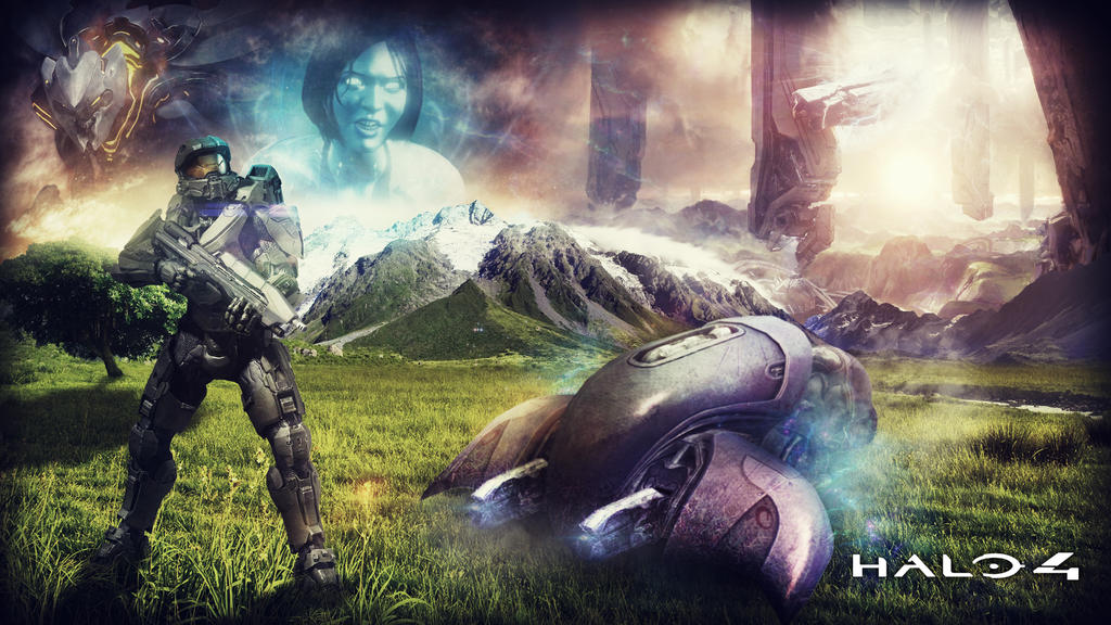 Halo 4 by RikenProductions