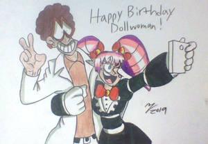 Happy Bithday Dollwoman!