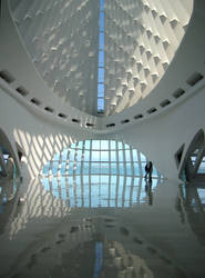 Milwaukee Art Museum Rotunda by Andimia