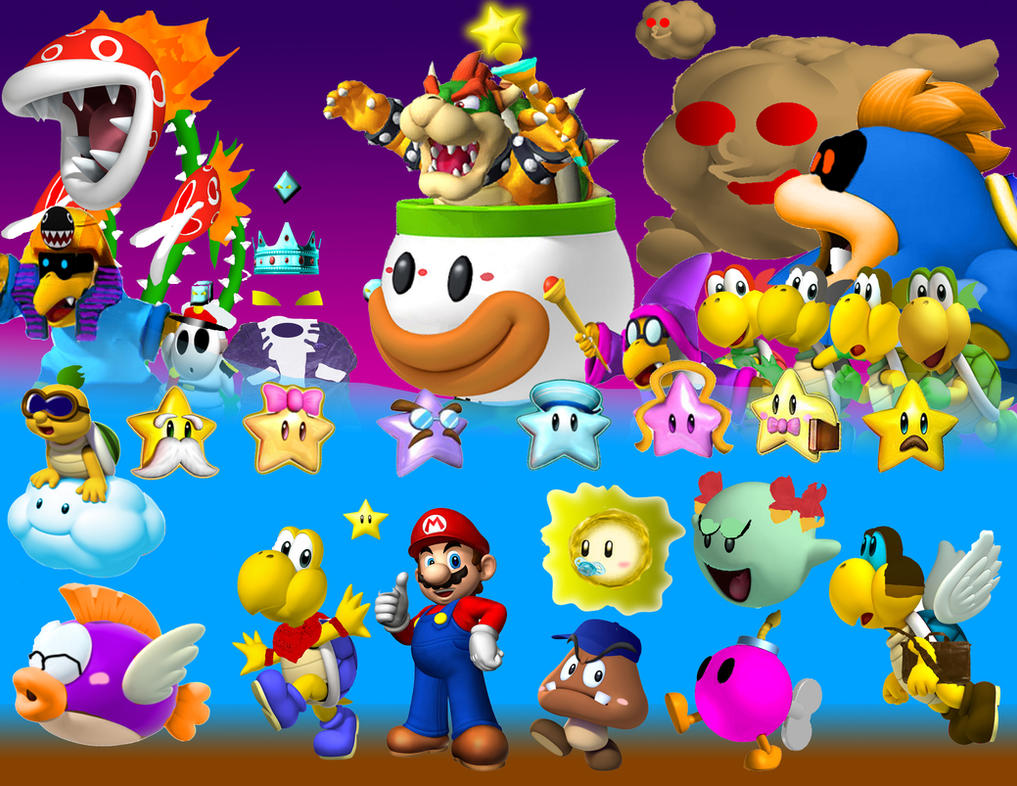 Paper Mario In 3d By Parentdehedgedow On Deviantart