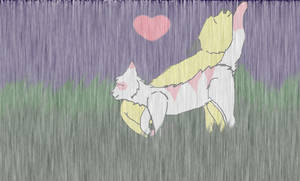 .:CE:. Stand in the rain by Speckledleaf