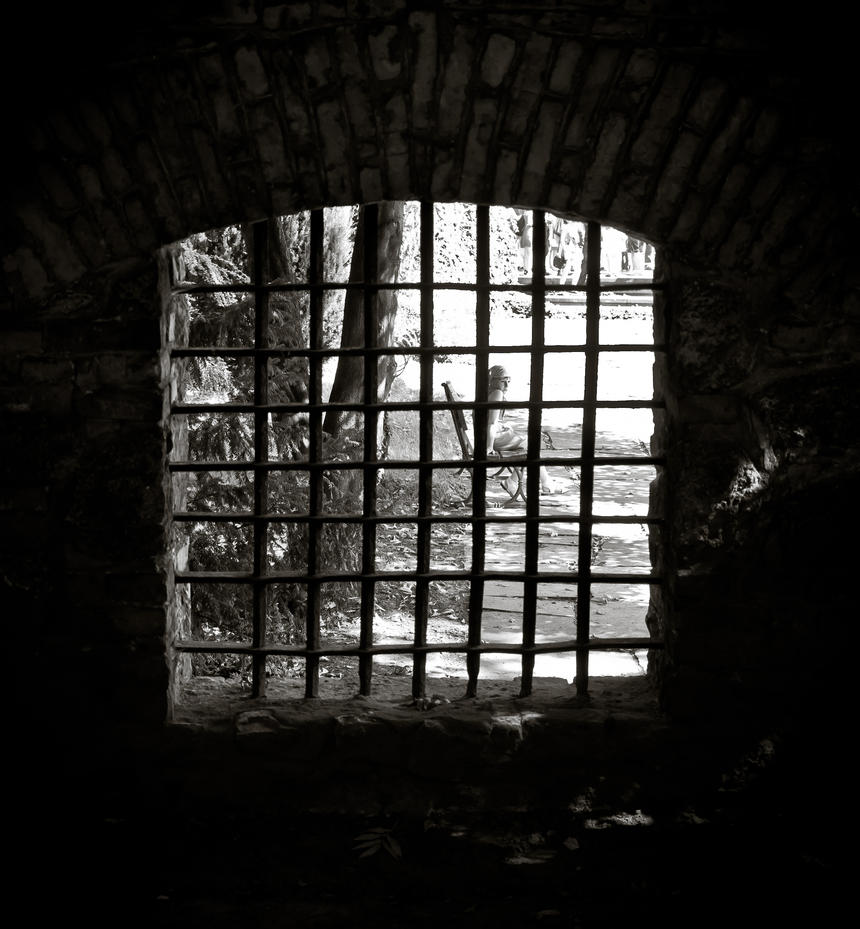 because life is beautiful, even behind bars by ateist-kleranty