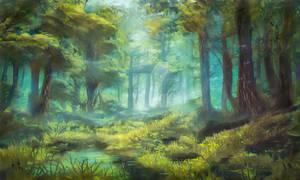 Sherwood Forest, Nottinghamshire UK