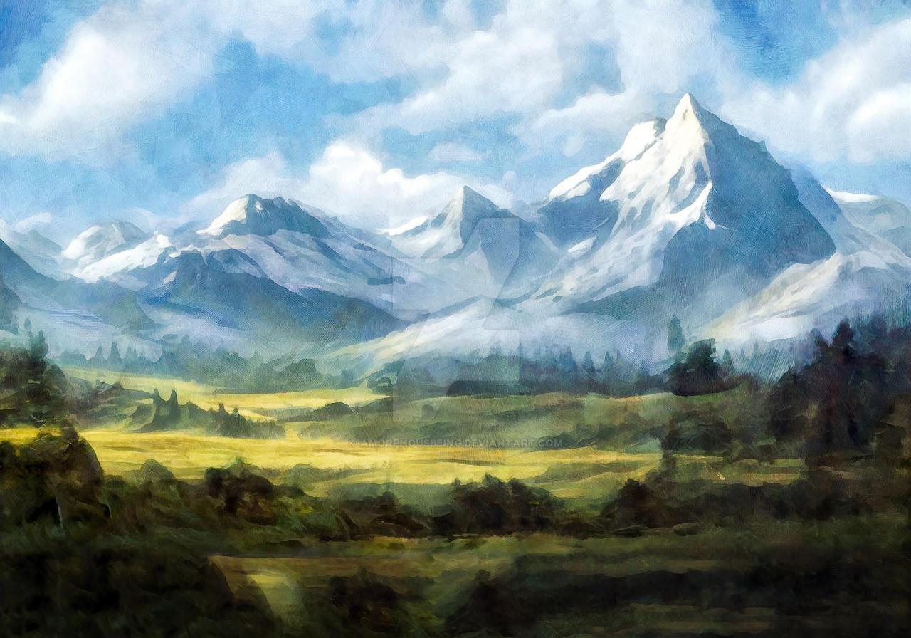 Mountains around Daisy Pass, Montana