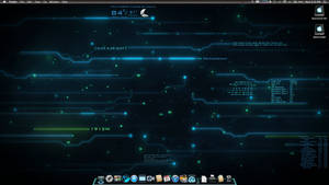 Tron Mac Theme by Fleek968