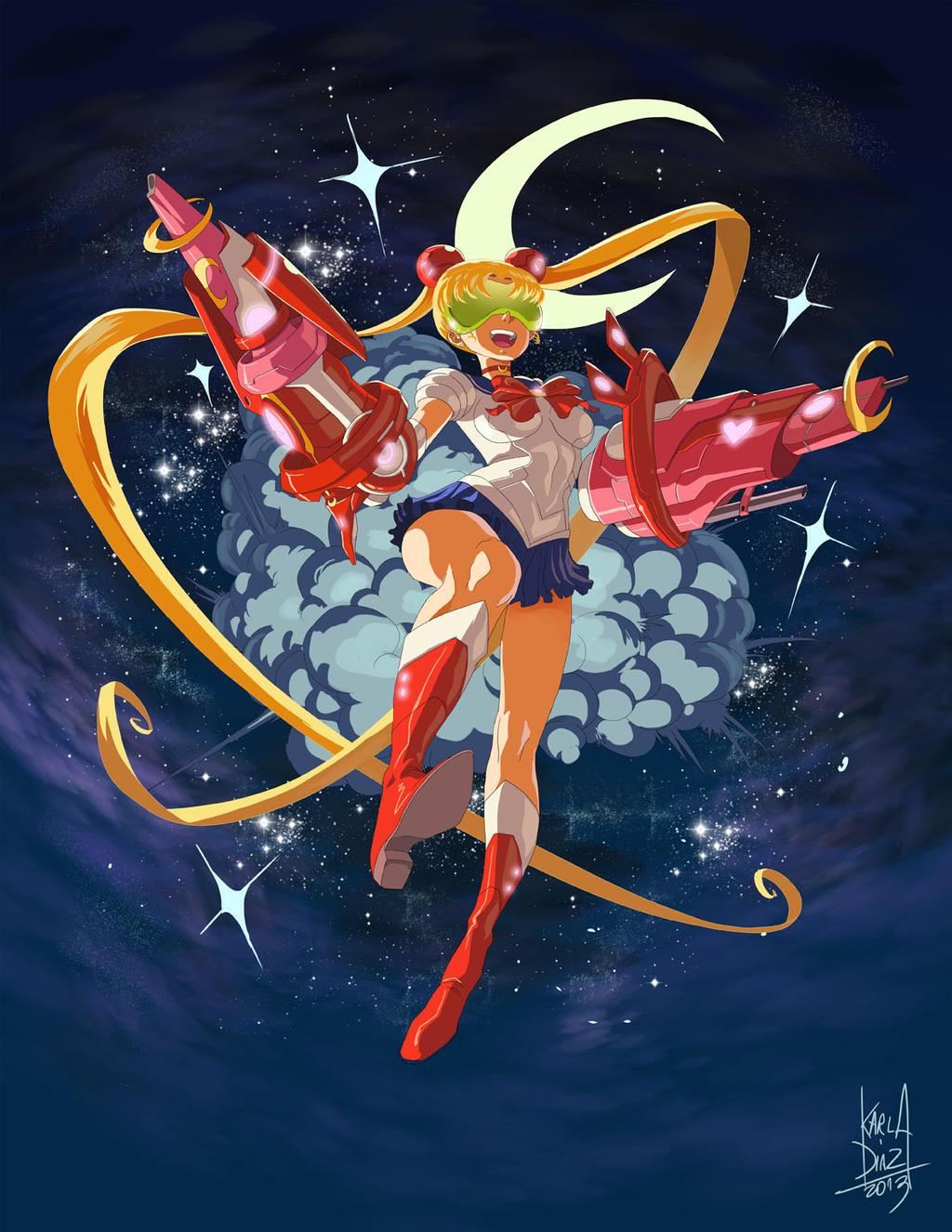 Sailor moon Bang Bang by KarlaDiazC