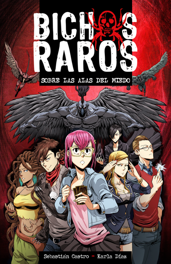 Portada Libro BICHOS RAROS by KarlaDiazC