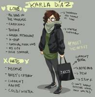 Meet the artist by KarlaDiazC
