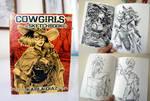 COWGIRL sketchbook on sale :)