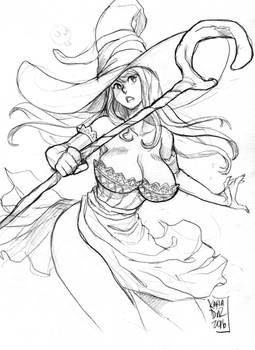 Sorceress from Dragon's Crown - commission -