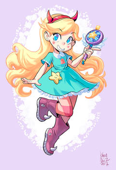 Star Butterfly commission