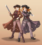 Cowgirls commission!