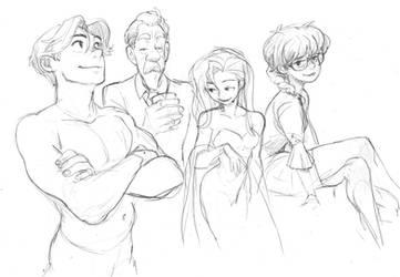 Sketch past year by KarlaDiazC