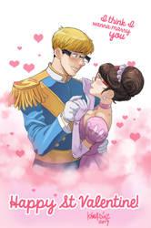 Dibujo San Valentin by KarlaDiazC